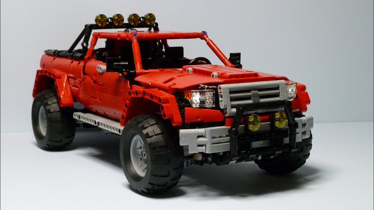 lego technic off road pickup youtube. Black Bedroom Furniture Sets. Home Design Ideas