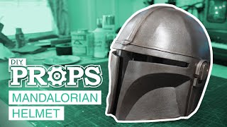 How to Make Your Own MANDALORIAN Helmet | DIY Props