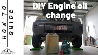 ENGINE OIL CHANGE - How to guide