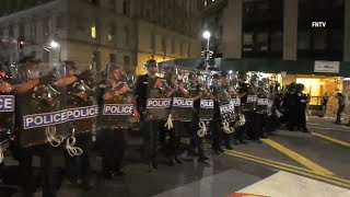 NYPD moves remaining Occupy City Hall protesters from City Hall park
