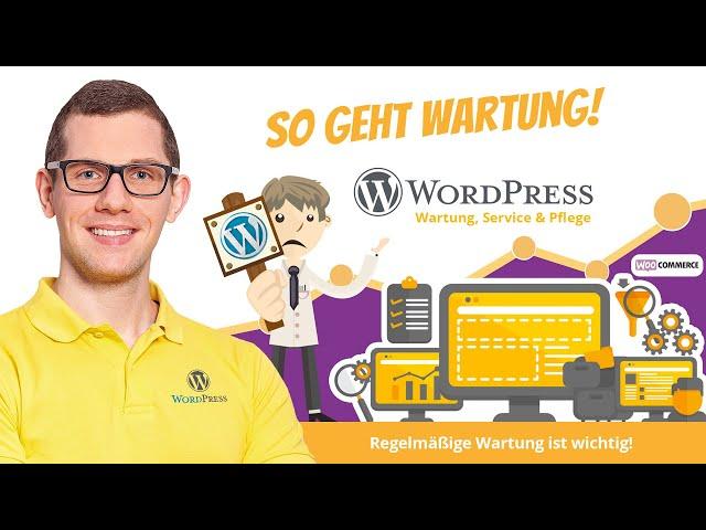 WordPress Wartung & WooCommerce Wartung |So geht es richtig!