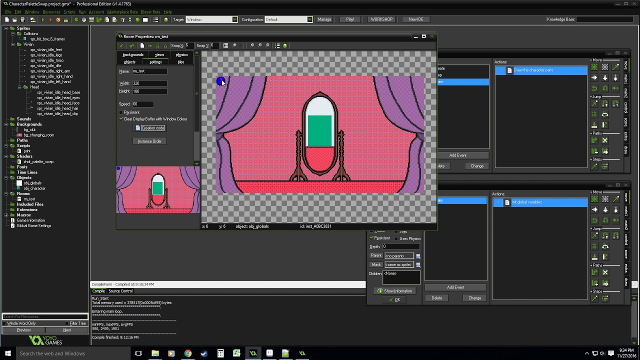 Game maker colors - Game Maker Tutorial Color Swapping Clut Sprite Shader