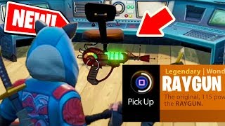 NEW! How to get the RAYGUN in Fortnite: Battle Royale *NEW* EASTER EGG