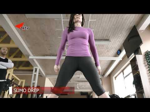 Cvičme doma   2 díl Hýždě a nohy