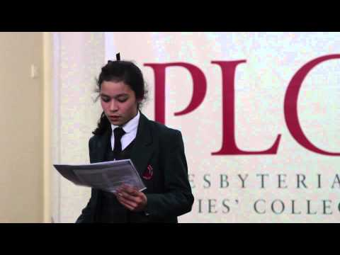 PUBLIC SPEAKING FESTIVAL Senior Showreel 2015 | PLC Sydney