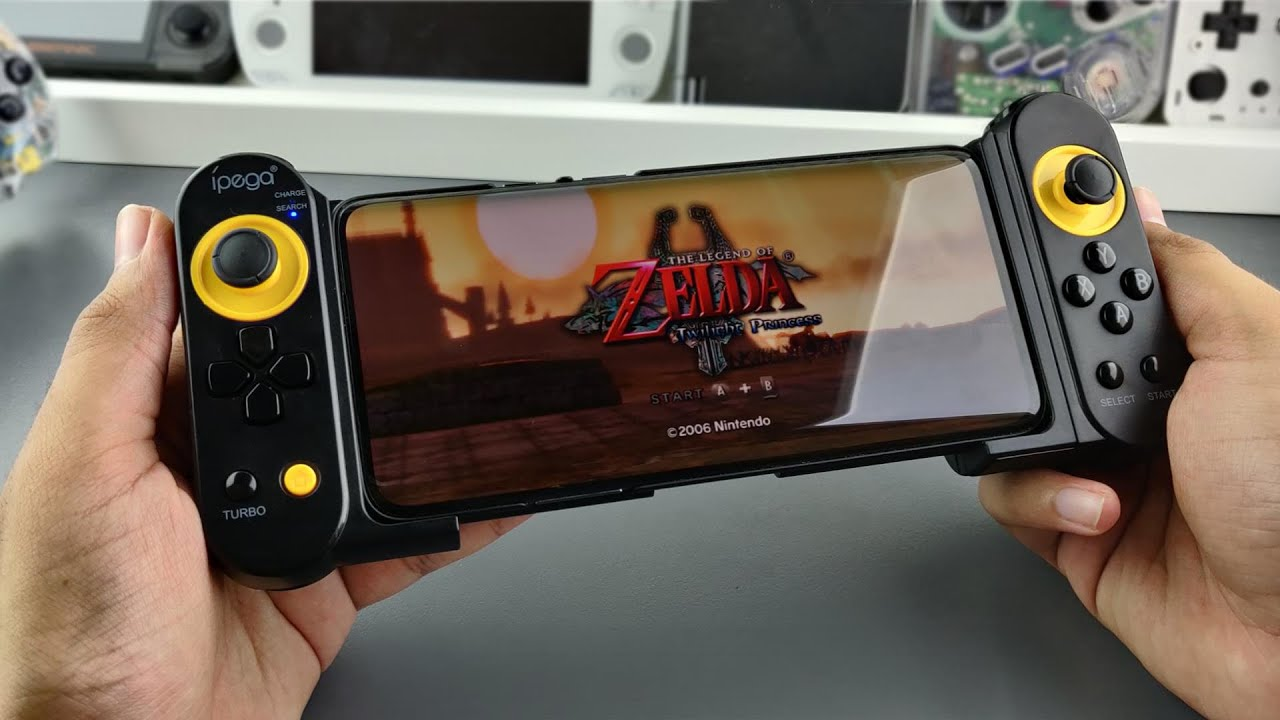 This Android Emulation Controller Turns Your Phone Into Ps2 3ds Wii
