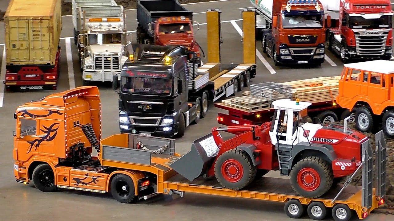 greatest rc 1 16 scale model truck collection best rc trucks treffpunkt modellbau paaren. Black Bedroom Furniture Sets. Home Design Ideas