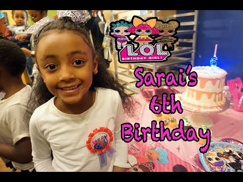 Sarai's 6th Birthday Party Vlog | Paint Party | Color Me Mine