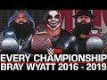 WWE 2K: Every Title Bray Wyatt Has Won in WWE (2016 - 2019)