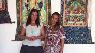 ELAA - Encontro Latino Americano de Ayurveda 2017 - Giedre Benjamin e Luciana Sion