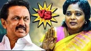 Tamilisai vs MK Stalin Twitter Clash