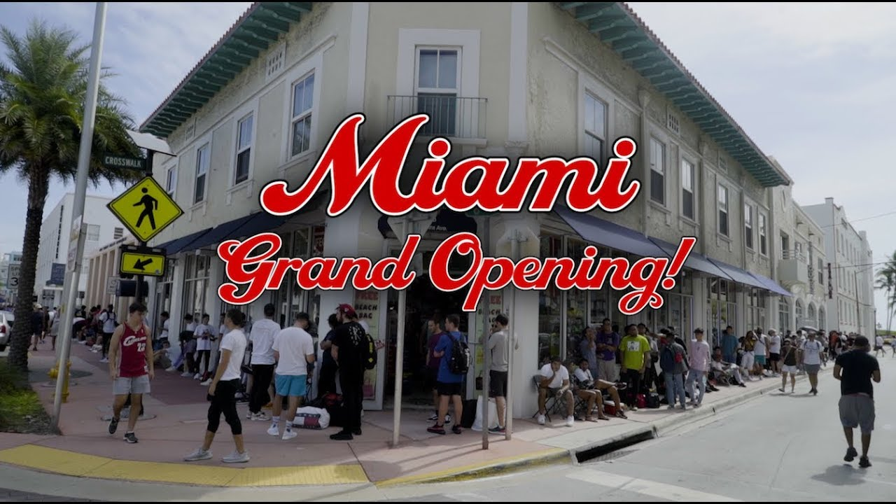 85a4591f86ec Round Two Miami Grand Opening! S4 Ep8 of The Show! - YouTube