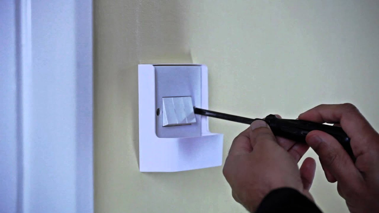 Light switch timer security light - YouTube