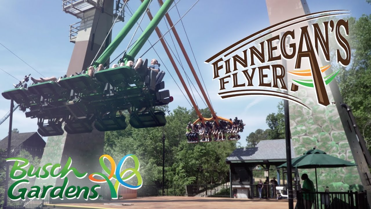 Finnegan's Flyer - New 2019 S&S Screamin' Swing at Busch Gardens Williamsburg