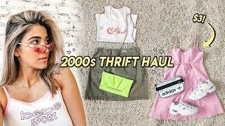 HUGE 2000s THRIFT HAUL ☆ bebe, guess, harley davidson, nike + more!