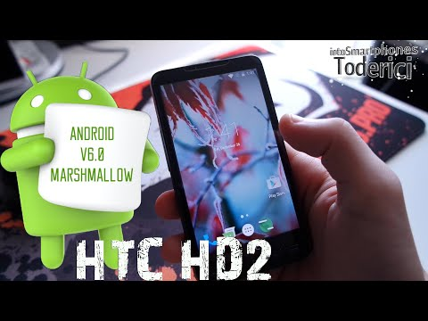 HTC HD2 - Android 6.0 Marshmallow (CM13) Preview 2015/2016