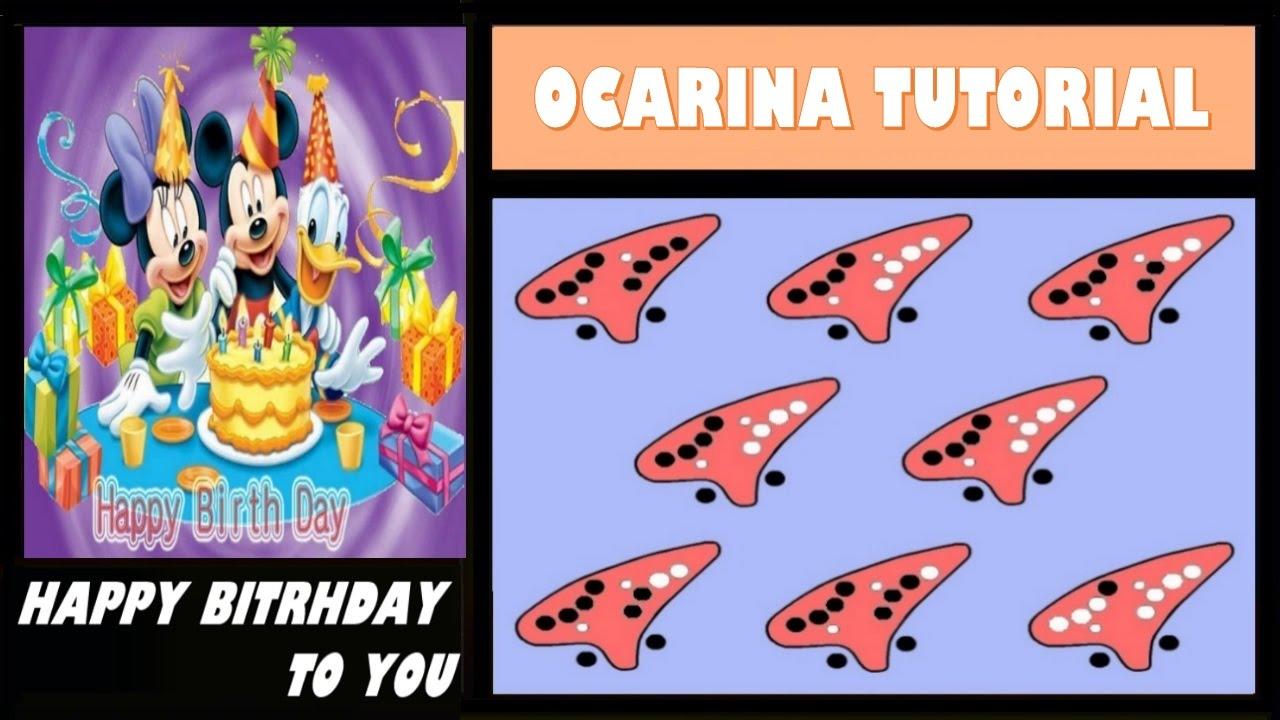 Happy Birthday To You Easy Ocarina Tutorial