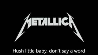 "Metallica - ""Enter Sandman"" Lyrics (HD)"