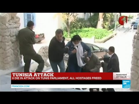 TUNISIA ATTACK - Hostage crisis over, Two militants killed