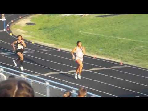 Adia Bennon 400mh Greenville County Champion April 18, 2018