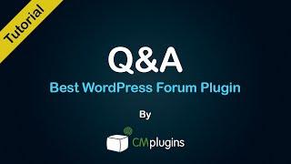 Erfahren Sie, wie zu erstellen, zu veröffentlichen, entwickeln Sie eine Q&A-Fragen Antworten Blogsystem Wordpress Plugin