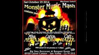 Halloween Music Monster Mash Disco Party 2014