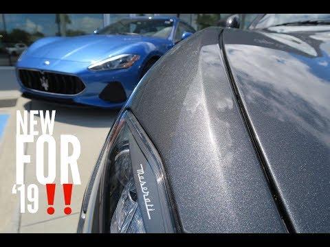 The 2019 Maserati Granturismo (Whats New?)