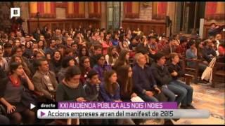 XXI Audiència Pública als nois i noies de Barcelona: seguretat i ciutat (vídeo integral)