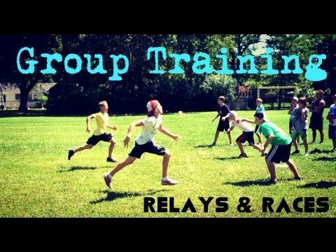 Group Fitness Training - Team Building - Bootcamp