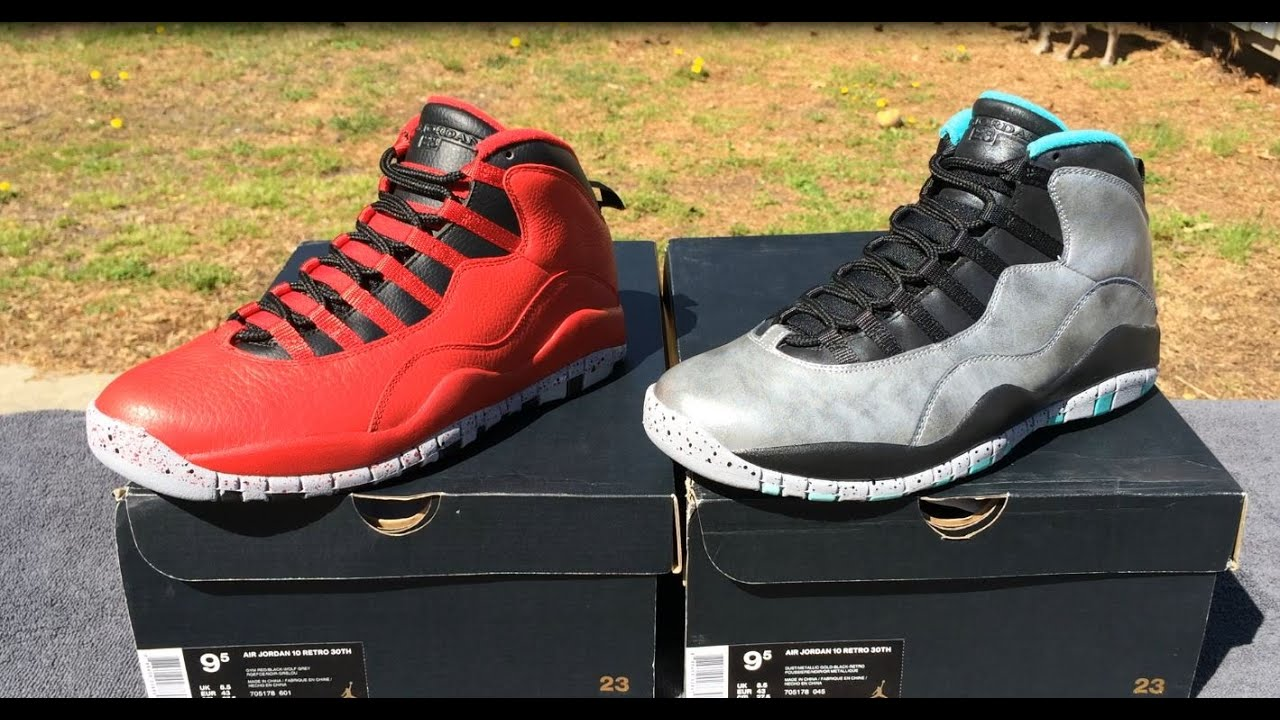 c82be6a15cccbd Air Jordan 10 Bulls Over Broadway vs Lady Liberty Outdoor Review and Compare