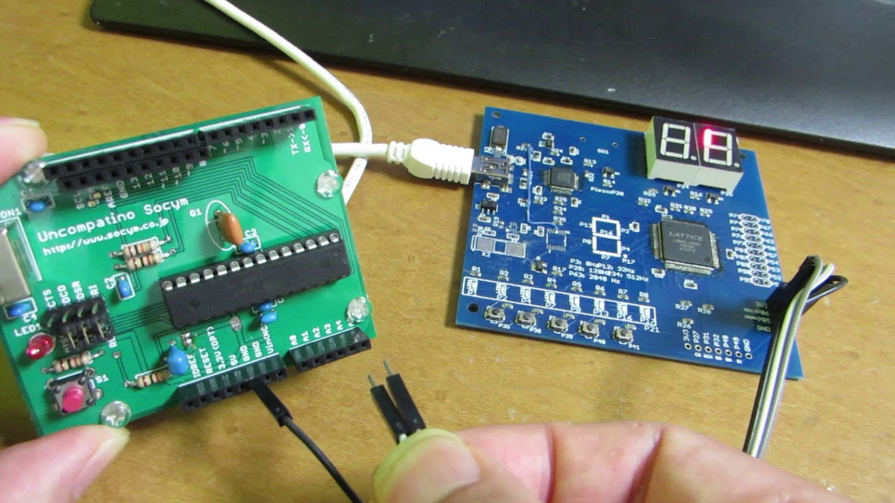 Another sample of I2C device implementation by Lattice FPGA