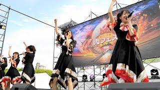 「肉フェスOSAKA2018」(大阪・長居公園)で行われた KissBeeWEST ライ...