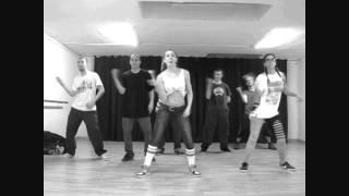 Coreografía Prima Cali Do Sumn (Konshens) en la MasterClass de Attitude Dancehall en Barcelona
