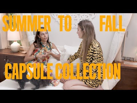 SUMMER TO FALL CAPSULE COLLECTION