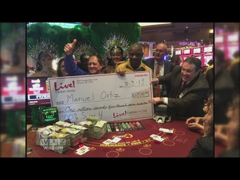 Man Turns $5 Into $1 Million At Maryland Live! Casino