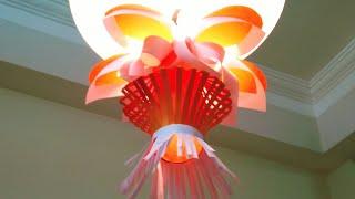 Kandil Making | paper Lantern | paper Lamp Shade making | How to make Kandil |Diwali decoration Idea