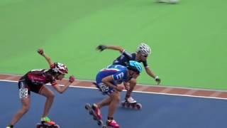 Ladies relay final (2016 European Championships Inline Speedskating)