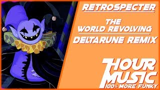 DELTARUNE - THE WORLD REVOLVING Remix (Jevil's Theme) [1 HOUR LOOP]
