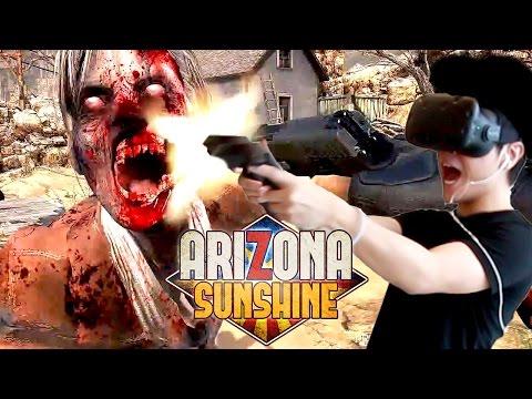 Arizona Sunshine《亞利桑那的陽光》VR 試玩 - 來射僵屍啦![HTC Vive]