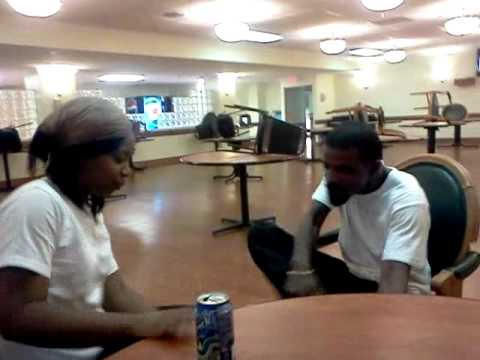 Ghetto Fight  T vs J (FIGHT AT WORK)