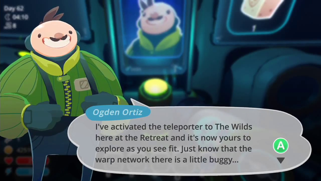 slime rancher ogden ortiz meeting - new area and exploring