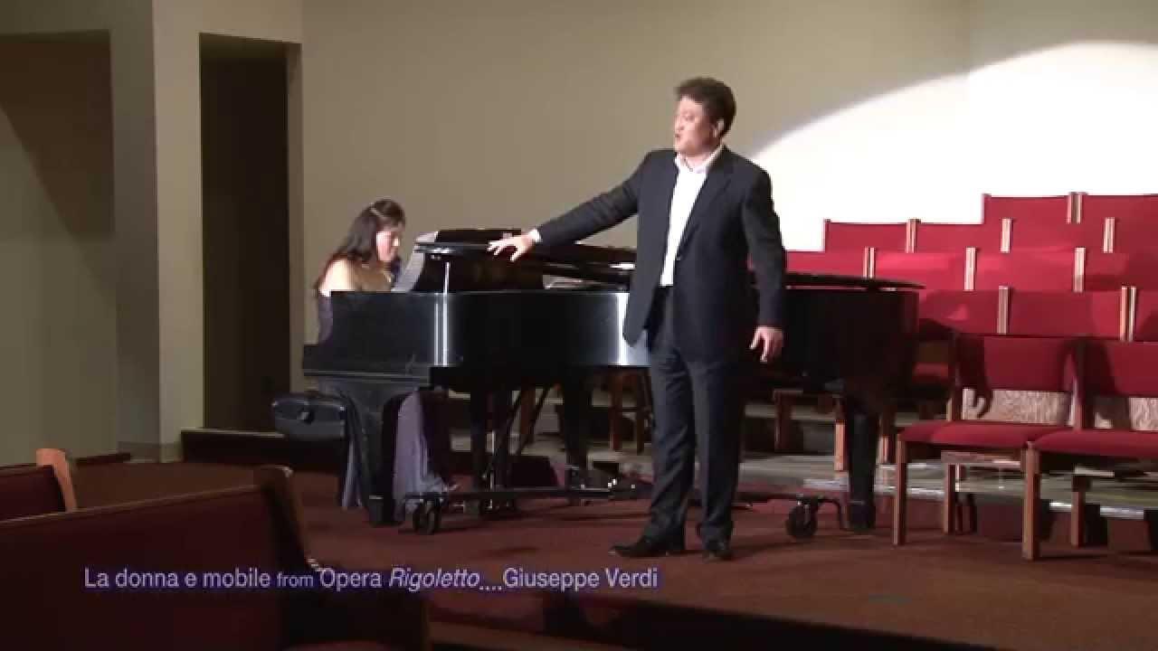 la donna e mobile from opera rigoletto....giuseppe verdi / tenor ... - Mobili Tv Verdi