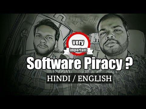 Software Piracy In Hindi   English