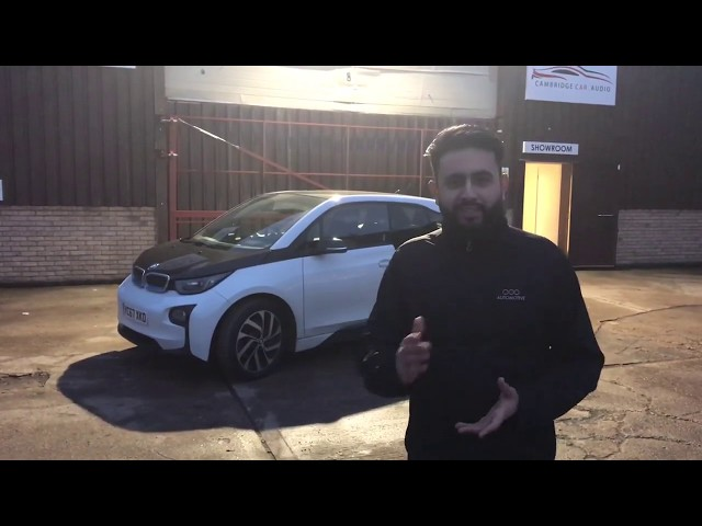 BMW I3 | BLACKVUE DR900S 2CH - 128GB | Integrated reverse camera