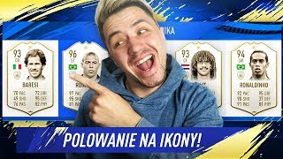 Polowanie na IKONY w DRAFCIE! @ FIFA 19 / DEV