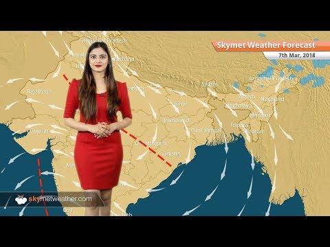 Weather Forecast for Mar 7: Rain in Madhya Pradesh, Arunachal Pradesh, dry weather in Delhi