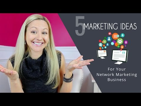 Online Marketing Strategies – 5 Simple Ways To Grow Your Network Marketing Business Online