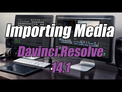 Importing footage Media Mode-Davinci Resolve 14[english-dutch subs]