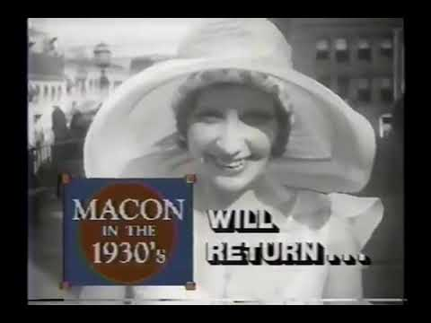 Macon In The 1930s Special (1995)