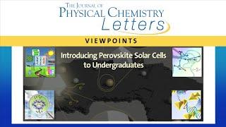 Introducing Perovskite Solar Cells to Undergraduates